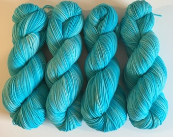 Dyed to Order: Soft Sock - Turquoise