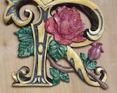 """Letter R wooden 9"""" h..."""