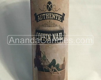 Hoodoo Coffin Nail Candle Witchcraft Voodoo Metaphysical