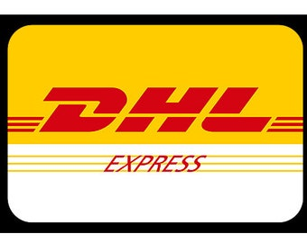 DHL Express shipping plus 3 usd 3-5 business days