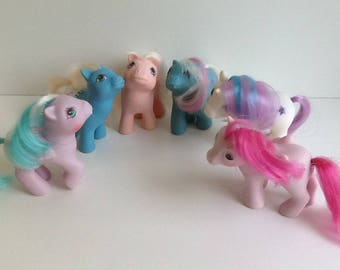G1 My Little Pony Baby Ponies PLAY or BEGINNER Lot!