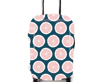 Luckiplus Lemon Luggage Cover Suitcase Protective Cover Fits 18-32 Inch Luggage
