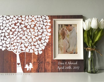 wedding tree guest book wedding guestbook alternative wedding guestbook signature tree guestbook