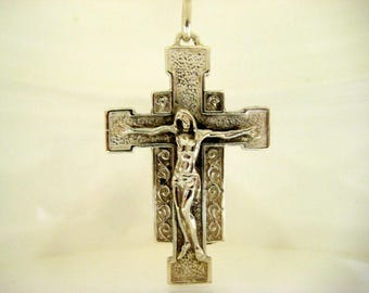 Cross pendant in Sterling Silver 925