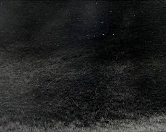 Black Beaver/Seal Faux Fur Fabric