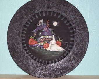 Ghouls Night Out Plate