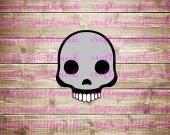Skull Emoji SVG