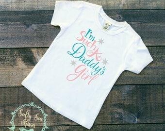 I'm Such a Daddy's Girl - Kid's T-Shirt - Father's Day Shirt - Toddler Father's Day Shirt