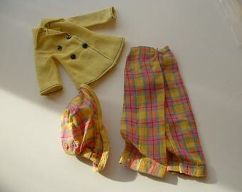 1970s Sindy doll blazer way outfit