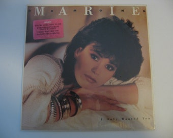 NEW! Factory Sealed! Marie Osmond - I Only Wanted You  -  Circa 1986
