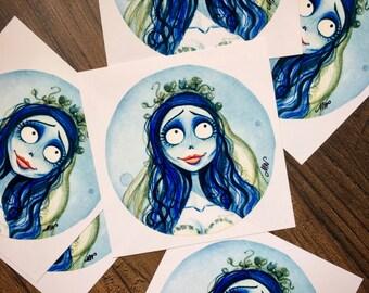 """Emily 4x4"""" Fine Art Quality Print"""