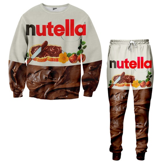 Nutella Sweater and Jogger Pants Combo