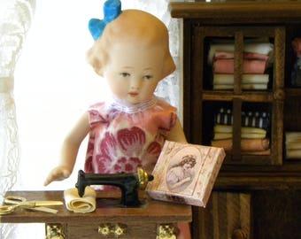 Bisque Doll Box Set / Attic Collection / Nancy /  OOAK