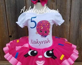 Shopkins Dress, Shopkins Tutu, Shopkins Birthday Outfit, TutuCute Shopkin Dress, Shopkins Tutu Dress