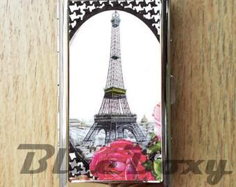 Eiffel Tower Cigarette Case, Cigarette Holder, Cigarette Box, Card Holder