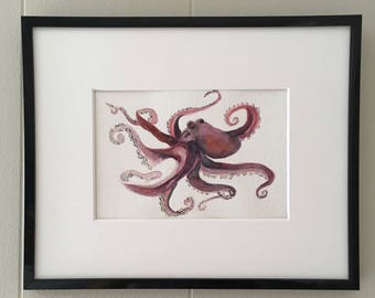 Octopus Watercolor