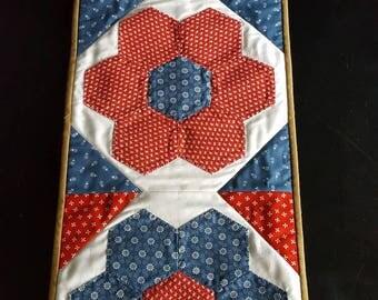 Flower Bed ~ Table Runner