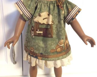 Dress for 18 inch doll like American Girl, Journey Girl and other