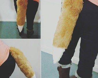 Fox Tail, Cosplay Tail, Animal Tail