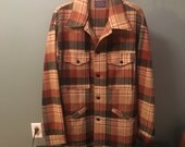 Vintage Pendleton Wool Jacket Mens Large