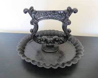 Victorian Cast Iron Boot Shoe Scraper Door Stop