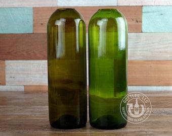 Upcycled Wine Bottle Pod Vase
