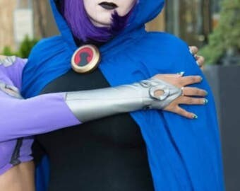 Adult Cosplay Hooded Cape suitable for Raven Teen Titans Cosplay