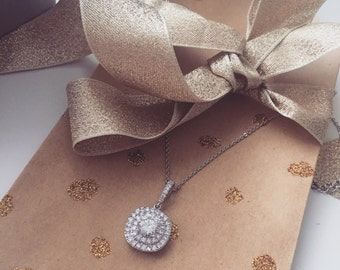 Bridal Crystal Stone Necklace