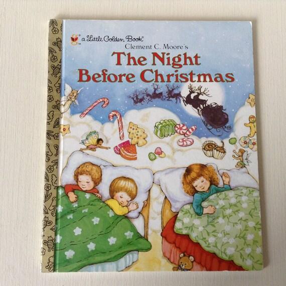 El noche antes de Navidad pequeño libro de oro por SweetPicking