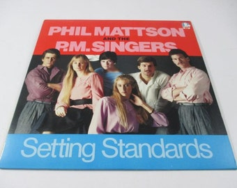 Phil Mattson and the P.M. Singers Setting Standards, 33LP, Jazz Ensemble, Minneapolis, Twin Cities, Doctor Jazz