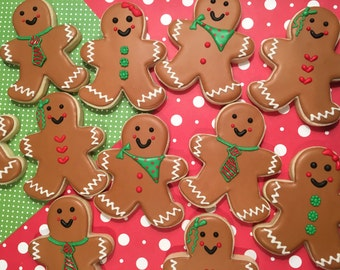 Gingerbread Boys/Girls Custom Sugar Cookies