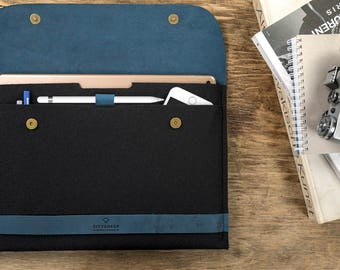 iPad Pro 12.9 case iPad Pro sleeve iPad case iPad Pro iPad Pro cover iPad sleeve iPad Pro leather iPad Pro felt iPad case apple pencil