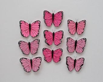 Nursery Wall Decor; Butterfly Wall Decor; Baby room wall art; Butterfly wall art; Girls Room Wall Decor; Nursery Butterflies; 3d Wall Art