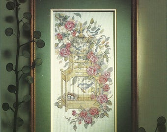 Dimensions:  Morning Song Cross Stitch Chart