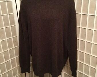 Vintage Men's XLarge Cashmere Sweater