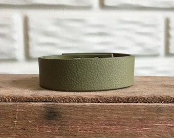 Handstamped Leather Cuffby LRM