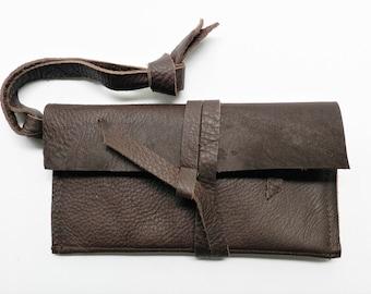 Brown Leather Wallet| Leather Ladies Wallet| Big Wallet