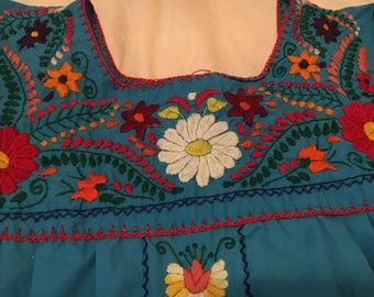 Mexican embroidery dress L/XL