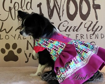 Dress with Ruffles - ruffles dress * ready to ship - Ready to ship *.