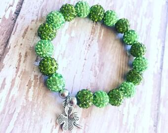 St. Patricks day bracelet