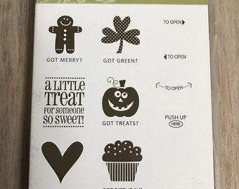 Destash Stampin Up Got Treats Stamp Set