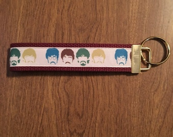 The Beatles Key Chain Zipper Pull