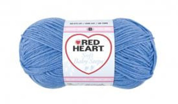 Red Heart Soft Baby Steps - Deep Sky