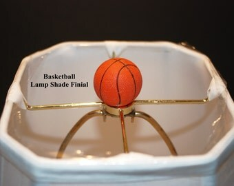 New Handcrafted Sports Ball Lamp Shade Finials