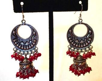 East Indian Earrings Etsy