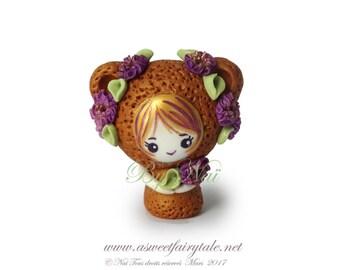 Handmade fimo doll kawaii pet figurine