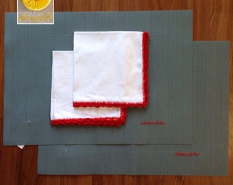 Red American Placemats