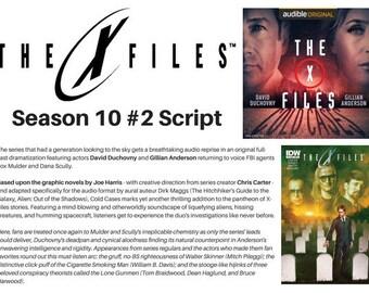 The X-Files #2 Script