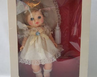 """Vintage Horsman """"Love Me Baby"""" Toy Doll With Pillow and Bottle, New in Box, Irene Szor Design, Collectible Baby Doll"""