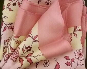 Beautiful Italian Silk Scarf by Schiaparelli - vintage